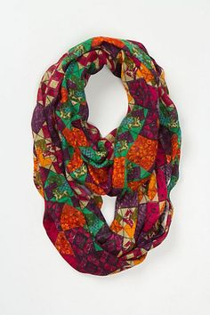 Anthropologie: Geodetic Infinity Scarf