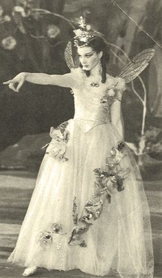 Vivien Leigh as Titania in A Midsummer Night's Dream in 1937