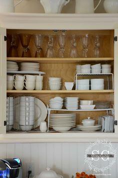 Kitchen Storage for Dishes :: StoneGable: