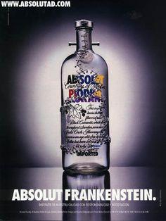 Absolut Vodka - Absolut Frankenstein