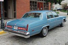 1977 Oldsmobile Ninety-Eight Regency Sedan