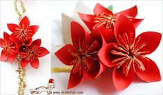 A great DIY paper poinsettia craft for kids by Krokotak