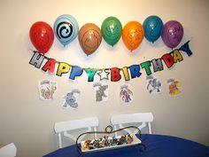 The Brown Eyes Have It: Skylanders Birthday Party