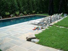 Bluestone Pool Deck #bluestone_pool_deck