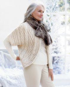 Winter plush scarf #ColdwaterCreek