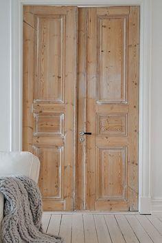 Limed doors