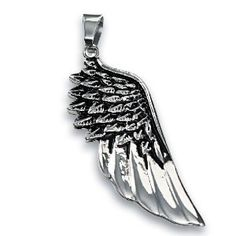 316L Stainless Steel Pendant - Angel Wing (Jewelry)  http://www.amazon.com/dp/B007LS6ZIA/?tag=iphonreplacem-20  B007LS6ZIA