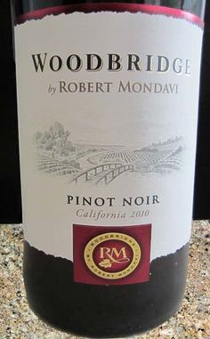 2010 Woodbridge Pinot Noir - a smooth & easy to drink red wine perfect for pairing with lean meats such as beef, lamb, veal and even chicken.