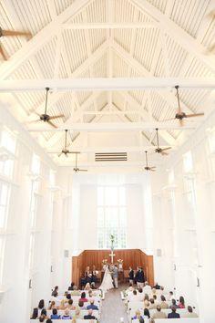 Inside of the Seaside Interfaith Chapel!! :)