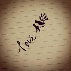 love birds tattoo ideas, bird tattoos, first tattoo, little birds, word tattoos, tattoo patterns, bird of paradise, sister tattoos, tattoo ink