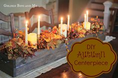 DIY Autumn Centerpiece