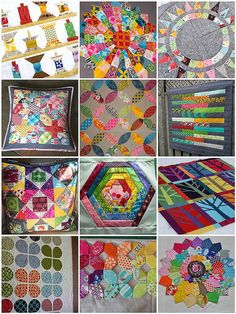 For Brit Quilt Swap Round 3 by isisjem22, via Flickr - gorgeous choices