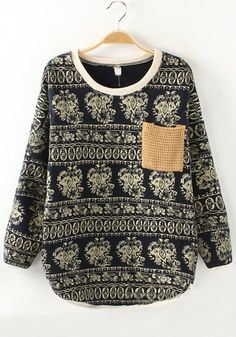 Sweater with pocket