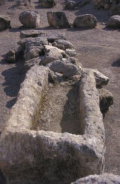 The ancient biblical city Meggiddo, Israel