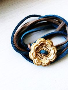Suede Bracelets by coconutcloud on Etsy, $8.00