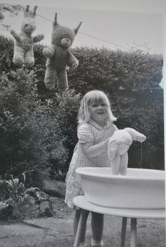 Knuffels wassen in de zomer!