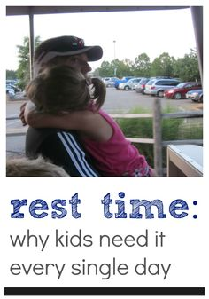 rest time | kids need it every day -- even when they're no longer napping, kids (and parents!) need a break | teachmama.com