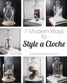 7 Modern Ways to Style a Bell Jar or Cloche