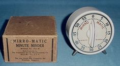 Mirro Matic Minute Minder, WITH BOX, and it's MINE all MINE!  Just won it on Ebay.