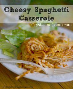 Cheesy Spaghetti Cas