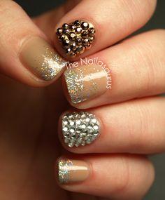 Bling #Nails #NailArt