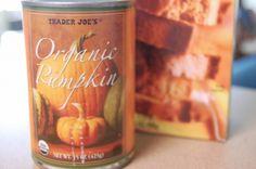 Pumpkin bread variation