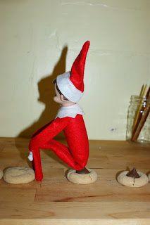 Adult elf on the shelf on pinterest elf elf on shelf for Elf on the shelf chocolate kiss