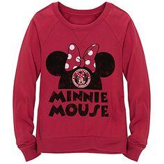 Raglan Long Sleeve Minnie Mouse Tee for Girls  $19.50