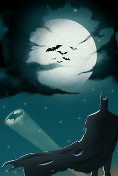 Bats over Gotham