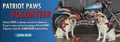 The mission of Patriot PAWS is to train and provide service dogs of their highest quality at no cost to disabled American veterans and others with mobile disabilities in order to help restore their physical  and emotional independence.