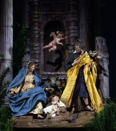 The reason for the season.  Neapolitan presepio, Italian, 1700–1830, Carnegie Museum of Art.  Photo: Tom Little