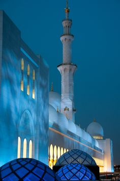 Sheikh Zayad Grand Mosque, Abu Dhabi, United Arab Emirates