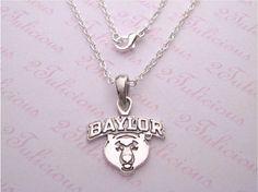 Baylor University Bears Necklace