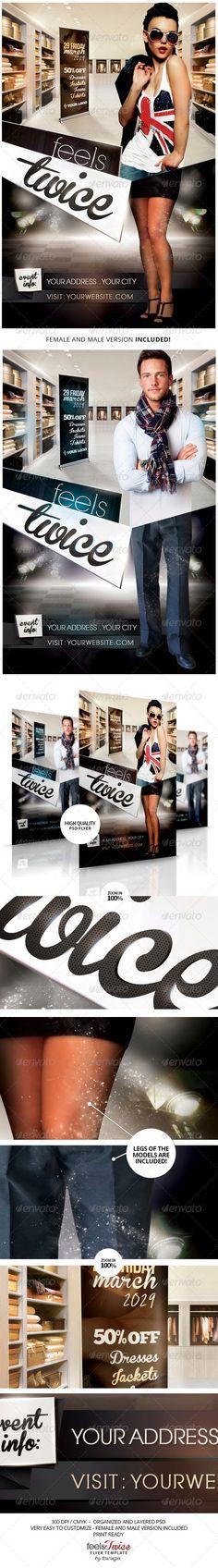 fashion flyer, flyer templat, club parti