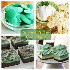 - St. Patrick's day food fun!
