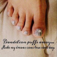 dandelion pedicure