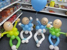 make your own baby bitty buddies using our balloon kits
