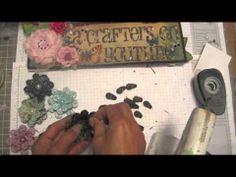Pine Cones flower tutorial (+playlist)