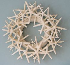 Circle of Starz Starfish Wreath as seen on the cover of Coastal Living 2011
