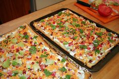 7 layer salad bars