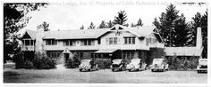Little Bohemia Lodge, Manitowish Waters WI. Location of the shootout between FBI and John Dillinger in 1934.