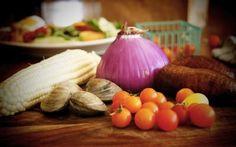 farm, local food, season, clam, buildings