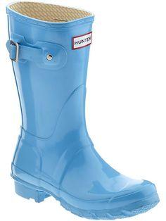 Hunter Rainboots Short
