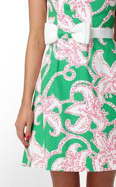 Lilly Pulitzer summer dress.