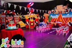 Cars Cumpleaños Birthday Party