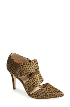 Lusting after these olive and chocolate spotted pumps!