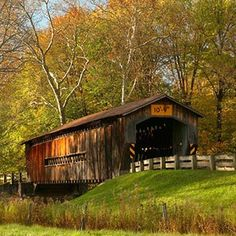 Ohio: Ashtabula County's covered bridges