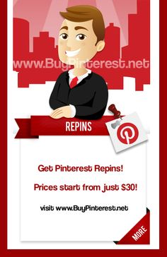 Just found this website for those interested in getting more Pinterest Repins!