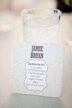 signature drink.