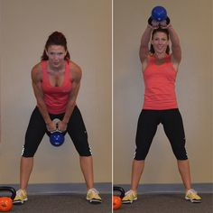 The Kettlebell Workout Everyone Needs to Do: Get ready, because this five-move kettlebell workout will torch tons of calories. beginner workouts, kettle bell exercises, health quotes, strength training, ball workouts, kettle ball, kettle bell workouts, swing, kettlebel workout